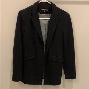 ADRIENNE VITTADINI Black Blazer Size 8P